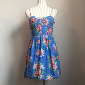 """EARLIER 2000s """"Forever 21"""" Bright Floral Dress"""